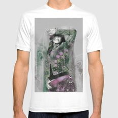 Women Wth Effect Mens Fitted Tee White SMALL