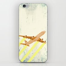 plane - let me fly away iPhone & iPod Skin