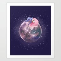 Lost In A Space / Callis… Art Print