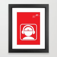 07_iconobmx_Z Framed Art Print