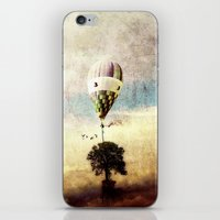 tree - air baloon iPhone & iPod Skin