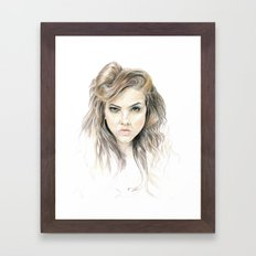 Hey Lolita Hey Framed Art Print