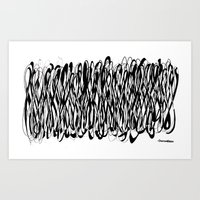 we are infinity Art Print
