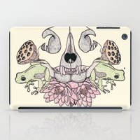 Cat Skull iPad Case