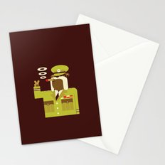 Major Winston Bulldog Stationery Cards