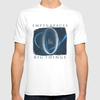 Empty Spaces & Big Thing… Mens Fitted Tee White SMALL