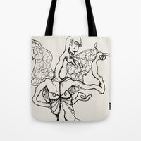 I'm a little butterfly Tote Bag