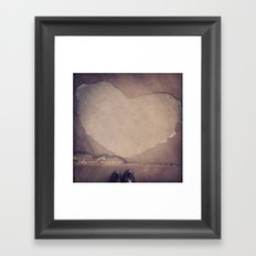 Take the time to notice Framed Art Print