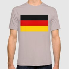 National flag of Germany - Authentic version Mens Fitted Tee Cinder SMALL