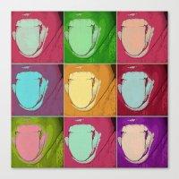 Licks Canvas Print