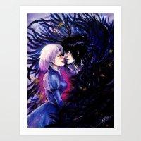 Heart Eater Art Print