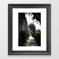 Romantic Rome Framed Art Print