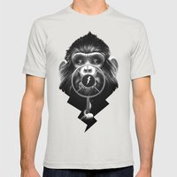 On Air Mens Fitted Tee Silver SMALL