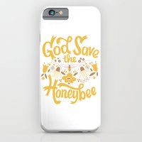 God Save the Honeybee iPhone 6 Slim Case
