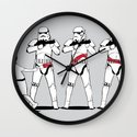 a Rebel Since She Was Young - US AND THEM Wall Clock
