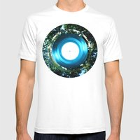 Circle Circle Mens Fitted Tee White SMALL