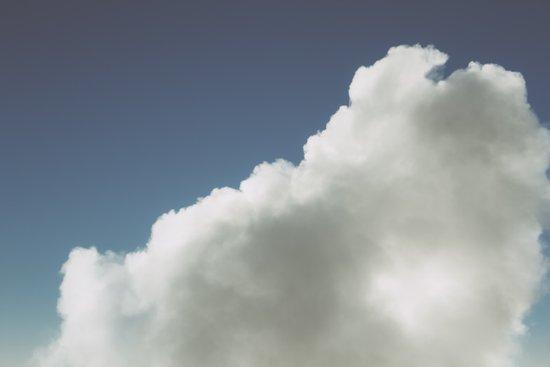 Clouds 5 Art Print