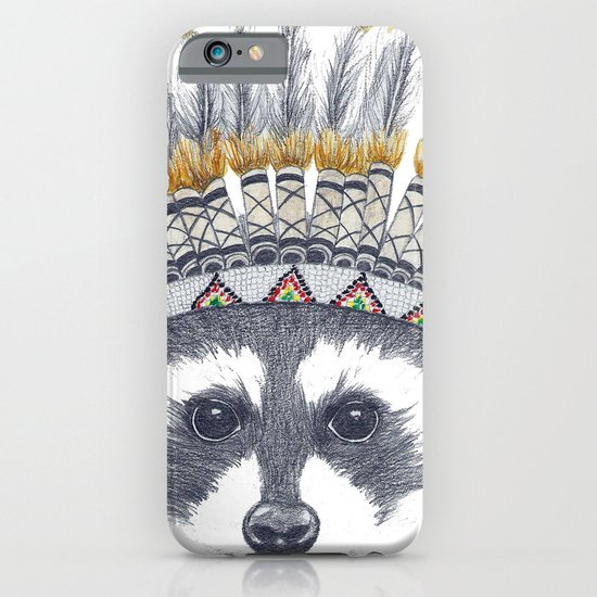 Festivale Raccoon iPhone & iPod Case