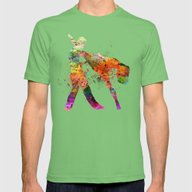 Dancing Queen 3 Mens Fitted Tee Grass SMALL