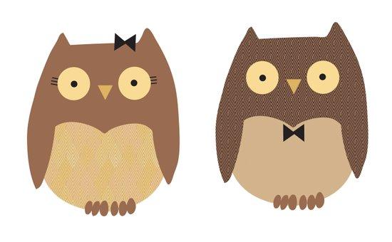 Owls Canvas Print