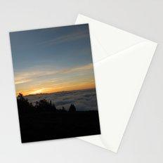 Sunset on Haleakala Crater Stationery Cards