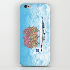 Happy Plane iPhone & iPod Skin
