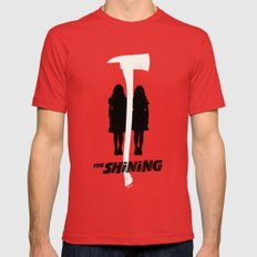 The Shining Minimalist P… Mens Fitted Tee Red SMALL