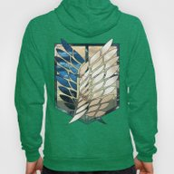 Attack On Titan: Scoutin… Hoody