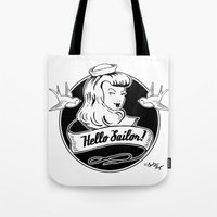 Hello Sailor Tote Bag