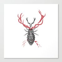 Hannibal's Totem Canvas Print