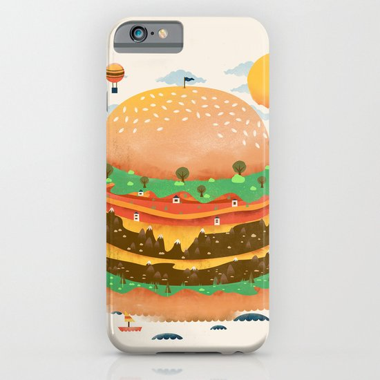 Burgerland iPhone & iPod Case