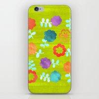 Daisy Dallop II iPhone & iPod Skin