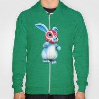 Lucha Rabbit-Blue Brothe… Hoody