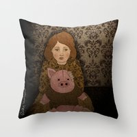 Anti Social Personality Disorder Throw Pillow