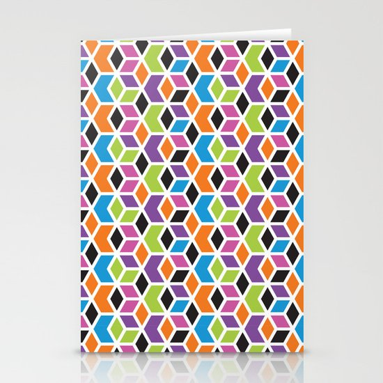 Geometric Stationery Card
