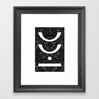 Man Down Framed Art Print