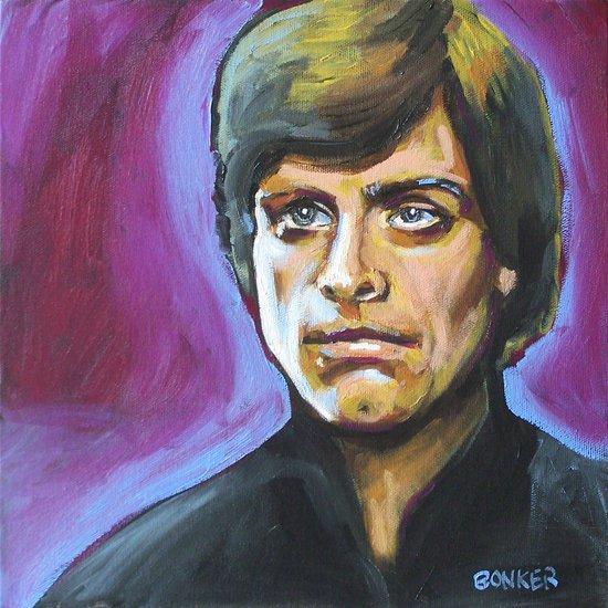 Luke Skywalker Art Print