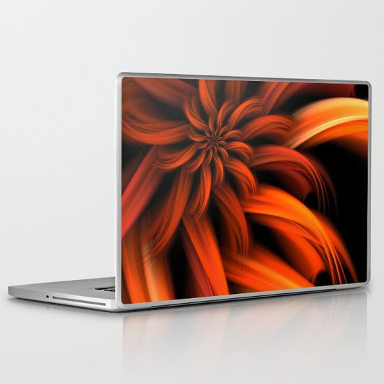 The Red Dahlia Laptop & iPad Skin