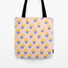 Floral Fries Tote Bag