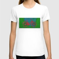 bicycle T-shirts featuring Bicycle by Mr and Mrs Quirynen
