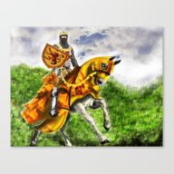 King Robert The Bruce Of… Canvas Print