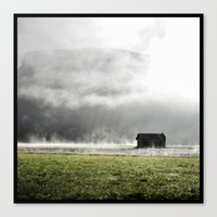 L'inverse de la pluie  Canvas Print