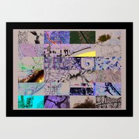 The World From My Comput… Art Print