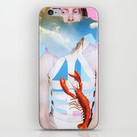 Barely Holding On iPhone & iPod Skin