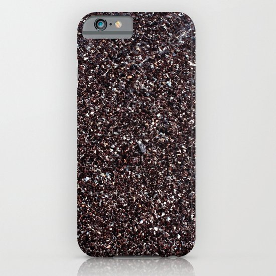 Black Sand IV (Red) iPhone & iPod Case