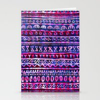 Hau'oli Stripe Purple Stationery Cards
