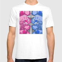 Combo Breaker! Mens Fitted Tee White SMALL