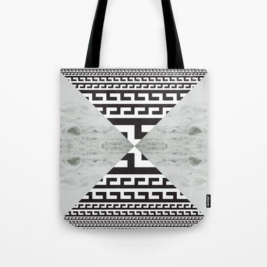 waves/grid #5 Tote Bag
