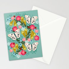 Buckeye Butterly Florals by Andrea Lauren  Stationery Cards