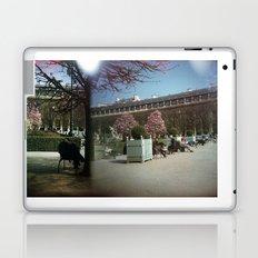 Jardin du Palais Royal, Paris Laptop & iPad Skin